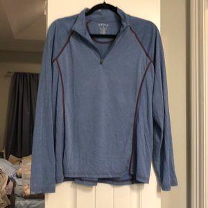 Orvis half zip lightweight sweatshirt